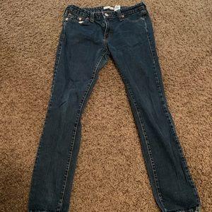 10 M Levi's low skinny jeans